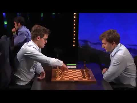 EXCITING ROOK ENDGAME!! Magnus Carlsen Vs Sergey Karjakin || Blitz Chess  Video's 2017
