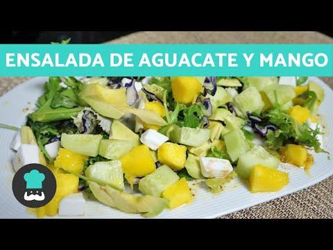 Ensalada de Aguacate y Mango - ¡Perfecta Para el Verano!