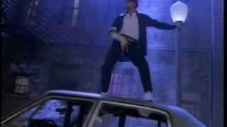 MIchael Jackson ~ Dance scene.  Black panther and back.