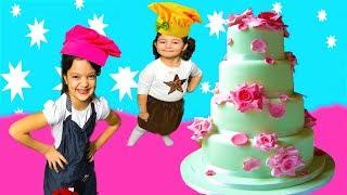 MASAL BİZE PASTA YAPTI ÇOK ŞAŞIRDIK! Magic Cake