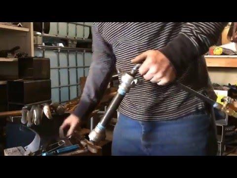 Blacksmith propane burner, forge welding heat