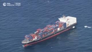Эсминец ВМФ США столкнулся с филиппинским торговым судном у берегов Японии