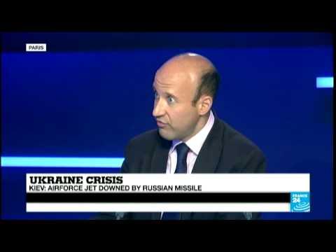 Ukraine airforce jet shot down by Russian missile - Ukraine Crisis