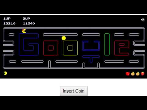 [Pacman Doodle] 2 Player Gameplay