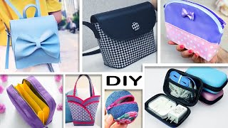 DIY & HACKS RECYCLE OLD CLOTHES INTO FANCY BAGS