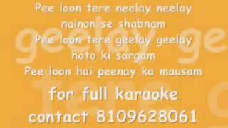 Pee Loo - Karaoke.wmv