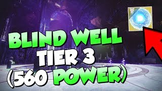 Tier 3 Blind Well Completion! How to get Seed of Light [Destiny 2 Forsaken]