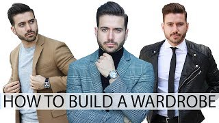 HOW TO BUILD A WARDROBE WITH BASICS | Affordable Men
