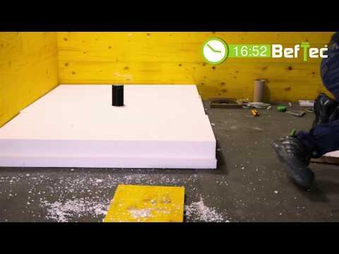 BefTec ECHTZEIT - Montagefilm - 100% dichte Befestigung für Ganzglas-Geländer
