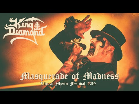 KING DIAMOND - Masquerade of Madness at Mystic Festival 2019 (New Song)