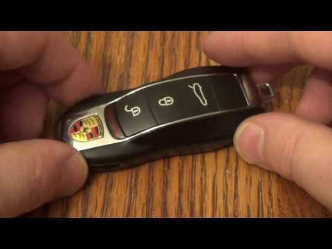 DIY Porsche – How to change SmartKey Key fob Battery on Panamera Cayenne Macan