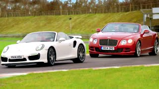 Porsche 911 Turbo vs. Bentley Continental - Fifth Gear