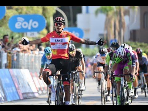 Ultimo Kilometro Etapa 2 Giro de Sicilia 2021 Con Otra victoria de Juan Sebastian Molano.