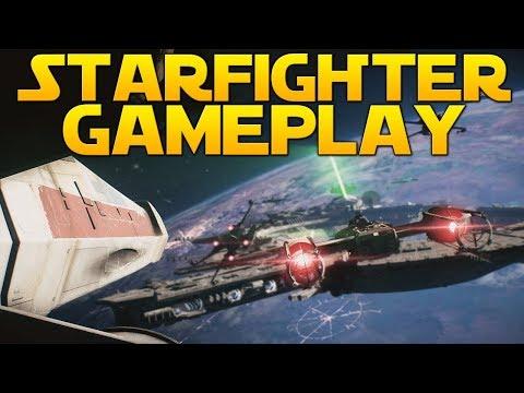 STARFIGHTER ASSAULT OVERVIEW - Star Wars Battlefront II Space Battles Gameplay