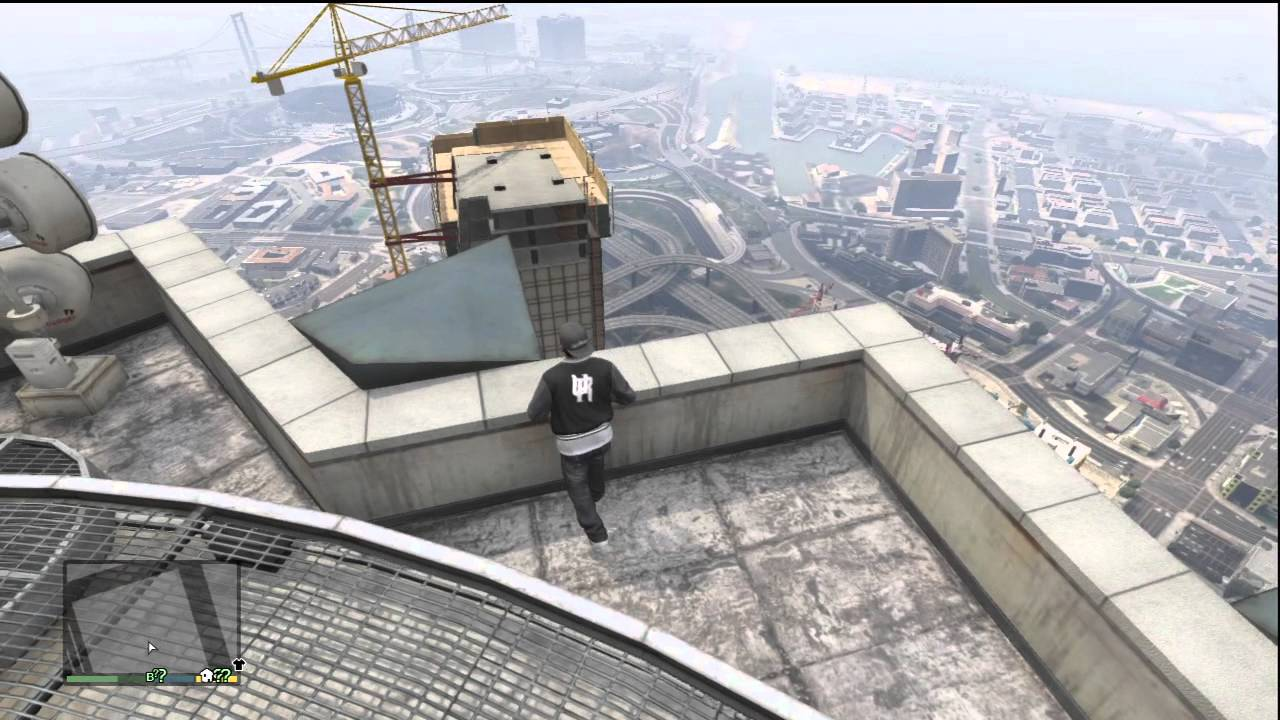 how to get a parachute in gta 5