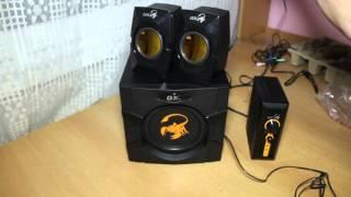 Колонки Genius GX Gaming SW-G2.1 3000 / Speakers Genius GX Gaming SW-G2.1 3000