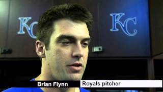 Royals lefty Brian Flynn fighting for spot in bullpen