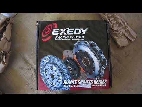 Exedy Stage 1 Organic Clutch Kit & Light flywheel Unboxing