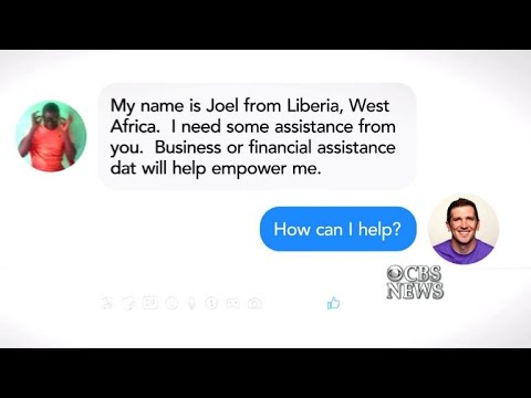 A call for help turns into an unexpected journey to Liberia