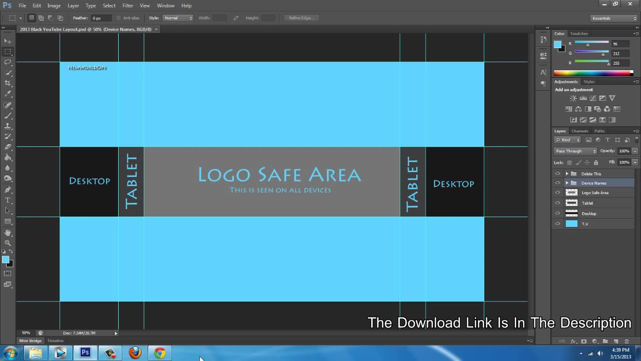 Adobe Creative Cloud [Feb 2013] [Blank YouTube Template] [PSD ...