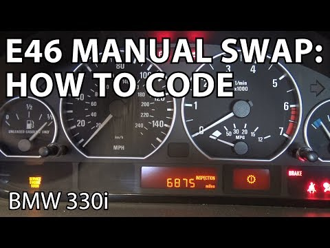 BMW E46 Manual Swap Project: How To Code the Vehicle Order