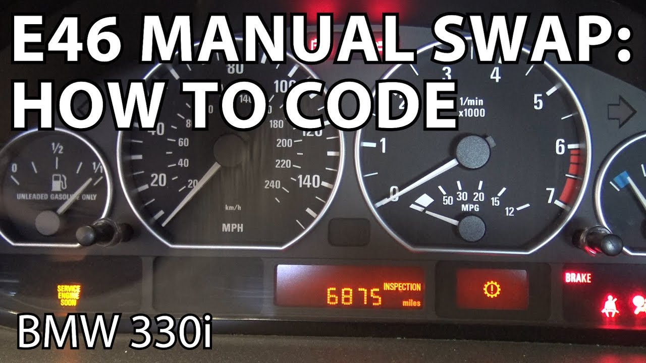 DIY: SMG to Manual Coding - BMW M3 Forum com (E30 M3 | E36 M3 | E46