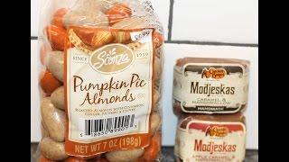 Sconza Pumpkin Pie Almonds & Modjeskas Apple Caramel And Caramel With Marshmallow Review
