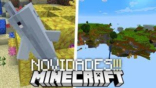 NOVO GERADOR DE MUNDOS!!! NOVO AETHER?! E MAIS!!!   Minecraft 1.13 (ATUALIZAÇÃO)