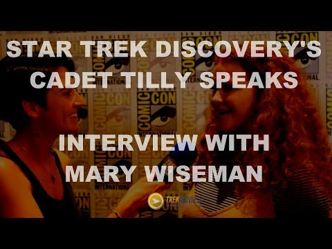 Exclusive Interview with Star Trek: Discovery's Mary Wiseman - SDCC 217
