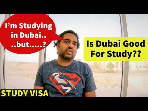 STUDY in DUBAI 2021 II Student Life in Dubai Universities I STUDY VISA 🔥🔥 Part Time Jobs & Salary!