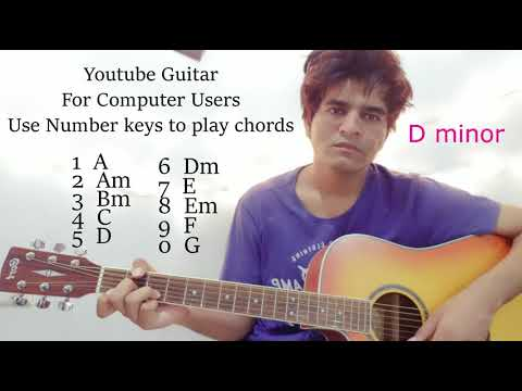 Youtube Guitar - Play It With Your Computer Keyboard