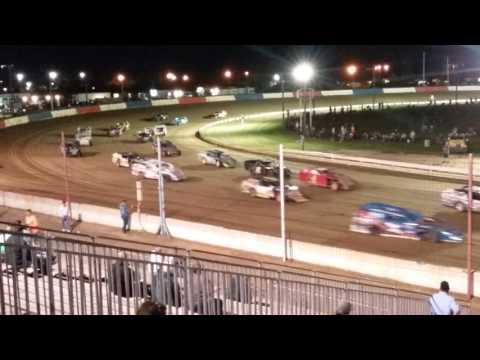 Modifieds Feature Crash Terre Haute Action Track