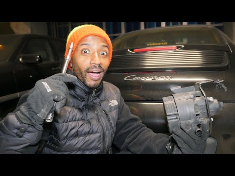 Porsche 911 SECONDARY AIR INJECTION PUMP. HOW TO REPAIR IT!