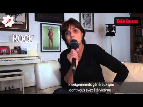 Linda De Suza envoie un message à François Hollande