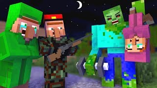 Zombie vs Villager Life - Full Series! - Craftronix Minecraft Animation