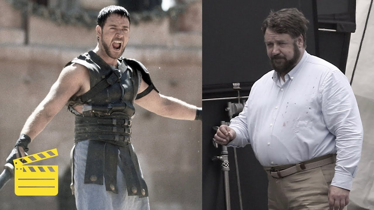 Russell Crowe Looks Unrecognizable - Then And Now (July ...