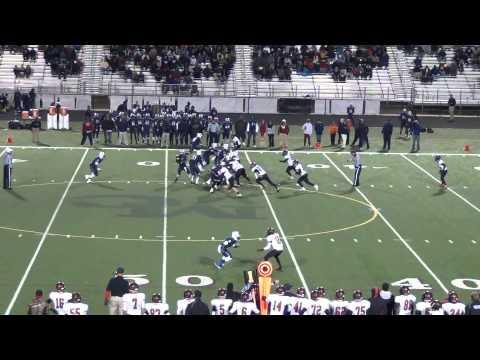 #75 Zack Phelps Mallard Creek HS Full Season 2013