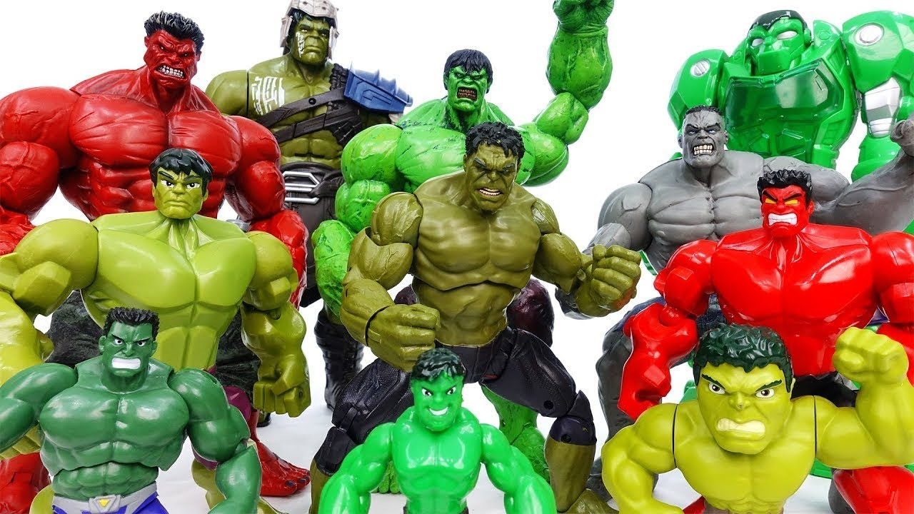 Hulk Toys Collection~! Grrrr No One Is Match For Hulk - ToyMart TV