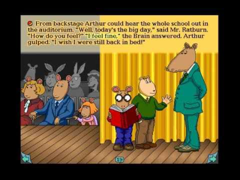 arthurs teacher trouble coloring pages - photo#3