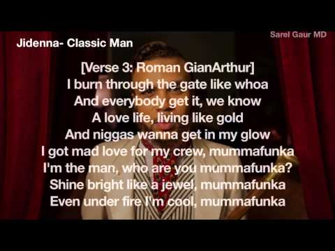 Jidenna   Classic Man Official Lyric Video ft  Roman GianArthur