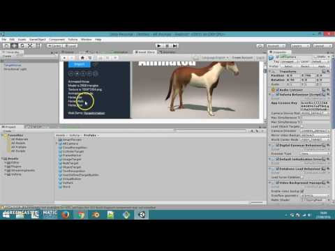 Augmented Reality (AR) Vuforia - Import Animated 3D Object - Mengimport Animasi 3D