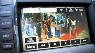 How To Use The DVD Video Feature In The Lexus ES350(This video shows how to watch DVD's in the Lexus ES350, as well as other lexus navigation systems., 2009-07-02T02:37:44.000Z)