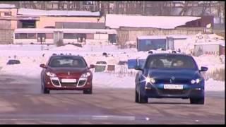 Наши тесты - Volkswagen Scirocco против Renault Megane Coupe