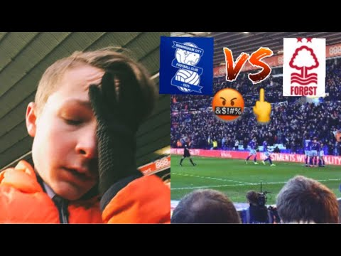 Birmingham Vs Nottingham Forest *VLOG* TERRIBLE YET AGAIN