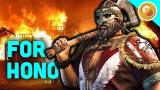 BERSERK WITH THE BERSERKER! - For Honor Gameplay