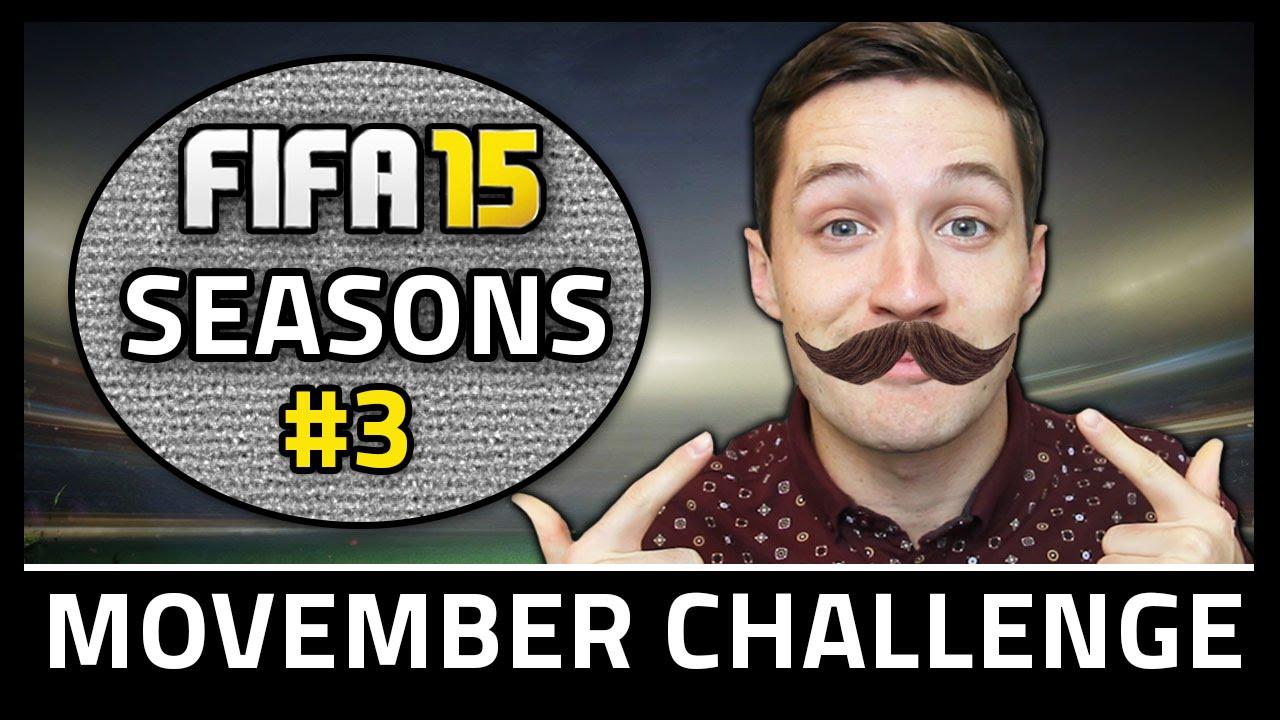 MOVEMBER CHALLENGE! #3 - Fifa 15 Seasons