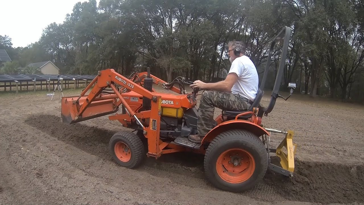 Small Tractor Implements For Gardening : Subcompact tractor implements for gardening youtube