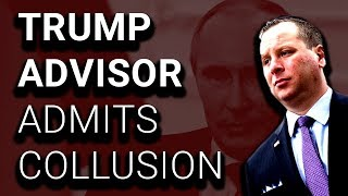 Fmr Trump Aide Claims Collusion, Refuses Mueller Subpoena