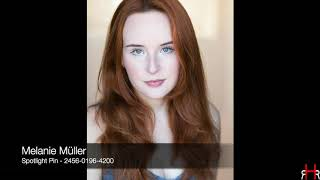 Melanie müller - professional vocal reel