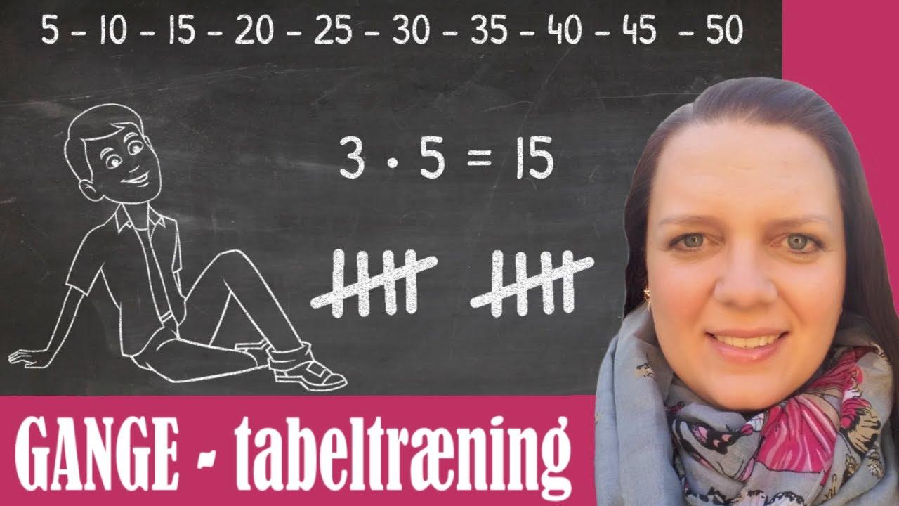 GANGE og tabeltræning - sådan hjælper du dit barn godt på vej